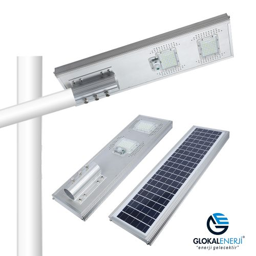 100 Watt Led Solar Aydınlatma Armatürü 1.00Tl