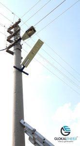 Kuruçay Belediyesi Güzelyurt Mahallesi Solar Aydınlatma Projesi