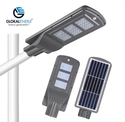 60 Watt Solar Aydınlatma Lambası 1.00 Tl